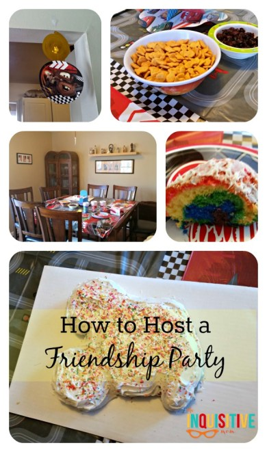 How to Host a Friendship Party The Inquisitive Mom @theinqmomblog @disney #disneyside