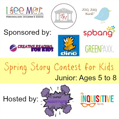 Spring Story Contest for Kids Junior Ages 5 to 8