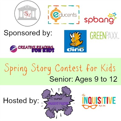 Spring Story Contest for Kids Senior Contest Ages 9 to 12