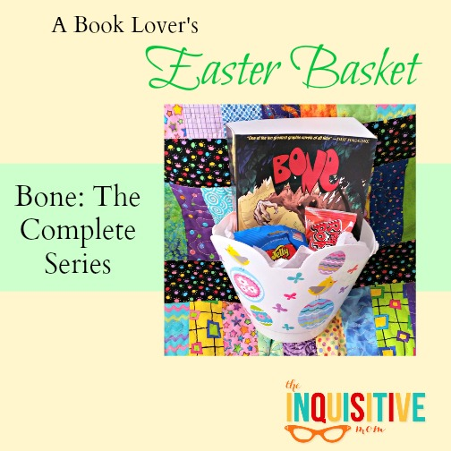 Bone the Complete Series Book Lovers Easter Basket