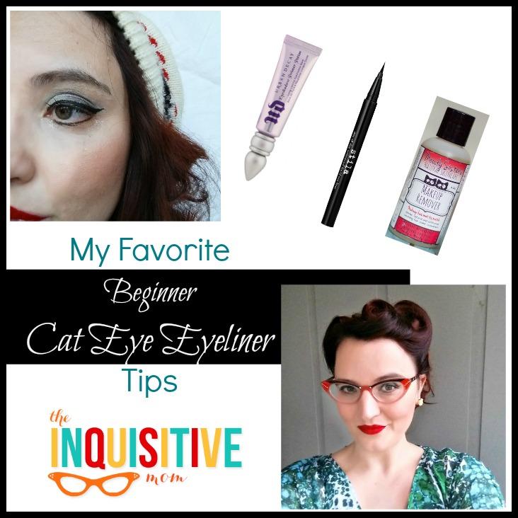 My Favorite Beginner Cat Eye Eyeliner Tips