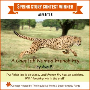 Spring Story Contest Winner A Cheetah Named French Fry