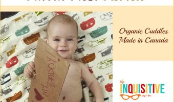 Narra Nest Review of Organic Drool Pads and Baby Blanket