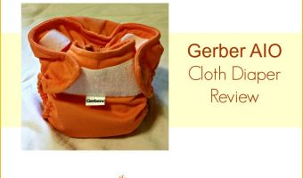 Gerber AIO Cloth Diaper Review