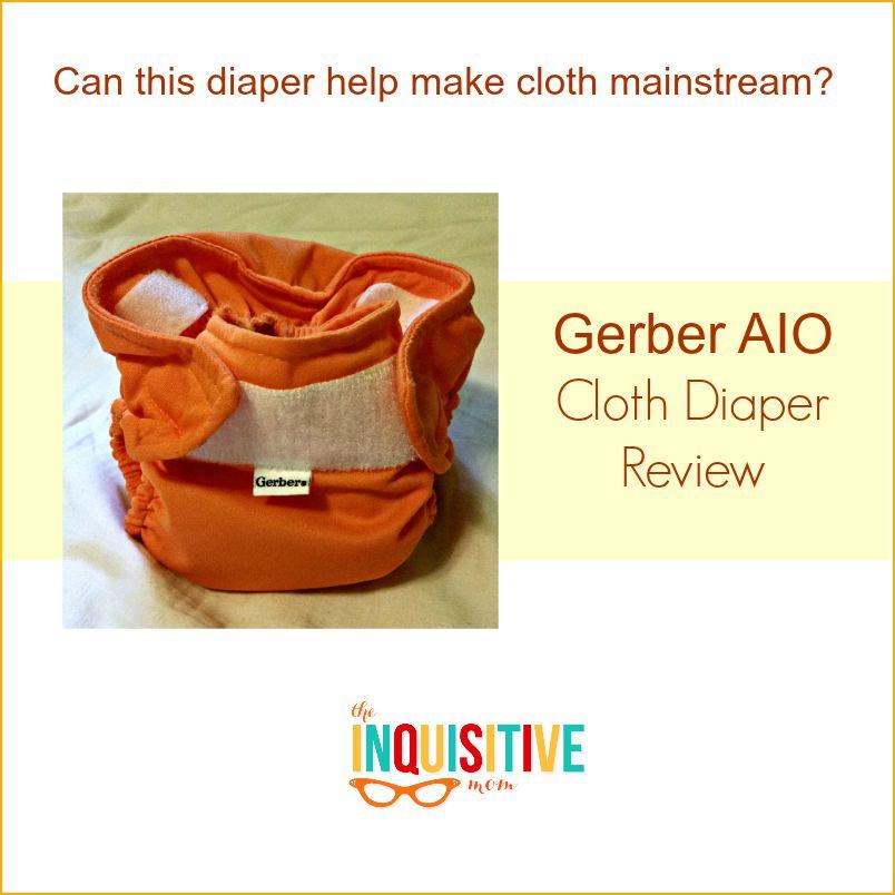 Gerber AIO Cloth Diaper Review