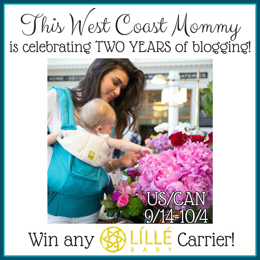 Win any LILLEbaby Carrier from The Inquisitive Mom.