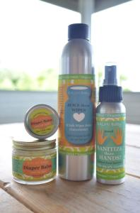 .BALM! Baby Natural Care Products Review and Giveaway! Baby Essentials Kit.