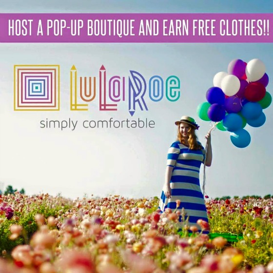 Book a LuLaRoe Pop-Up Boutique today!