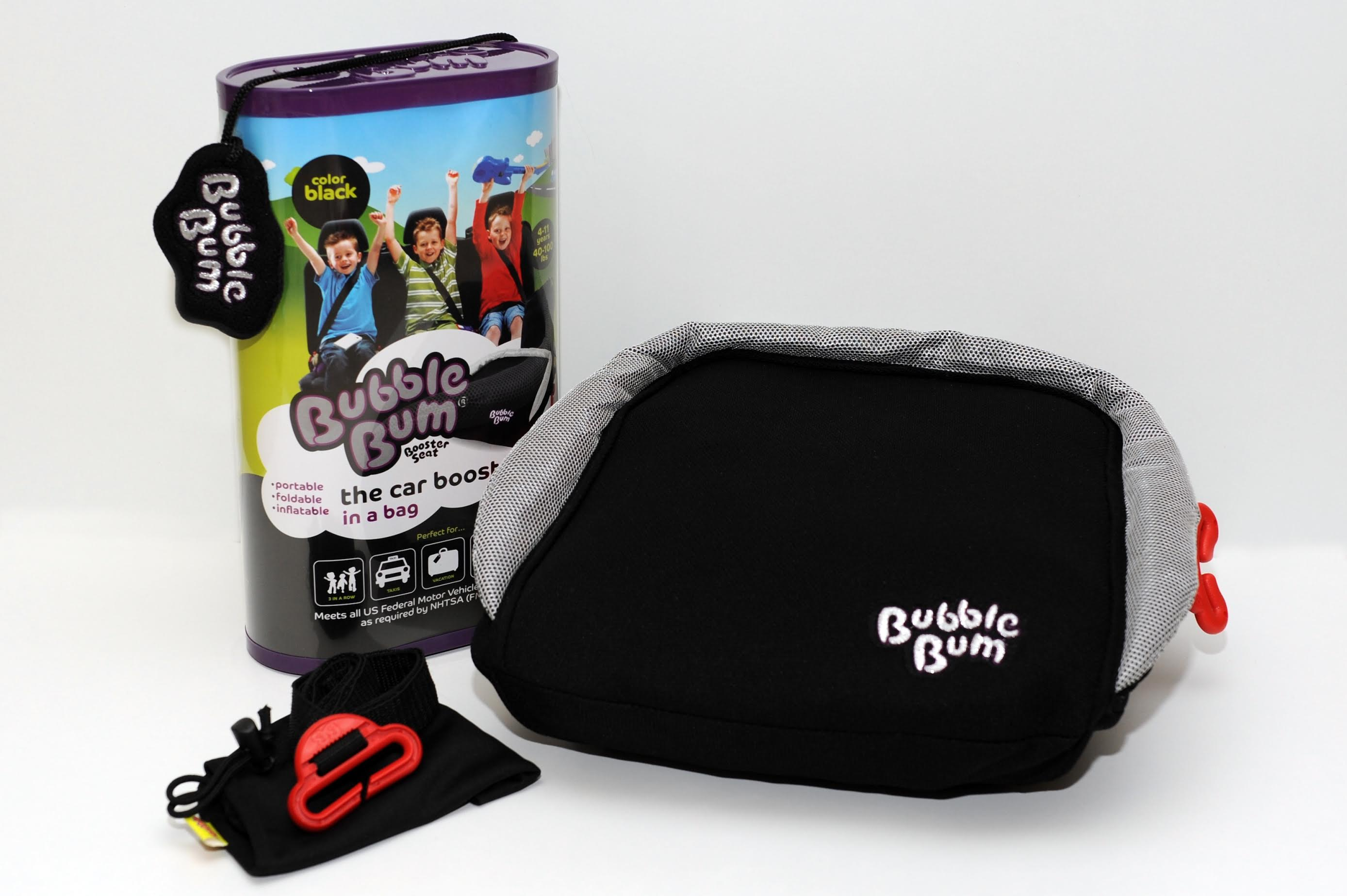 BubbleBum Booster Seat Review From The Inquisitive Mom This Is Where Inflatable Car