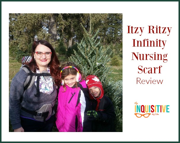 Itzy Ritzy Infinity Nursing Scarf Review from The Inquisitive Mom