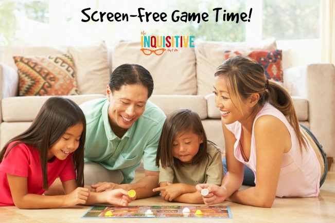 Screen Free Game Time