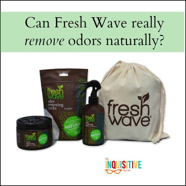 Can Fresh Wave really remove odors naturally