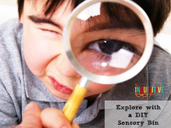 Explore with a DIY Sensory Bin