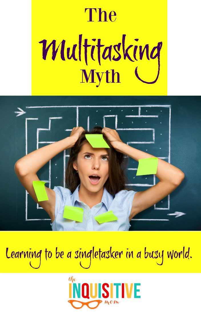 The Multitasking Myth. Learning to be a singletasker in a busy world.