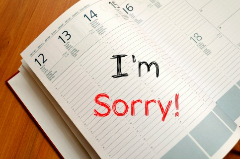 How to stop saying I'm sorry.