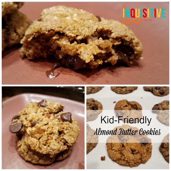 Kid-Friendly Almond Butter Cookies (Paleo and Gluten-Free)