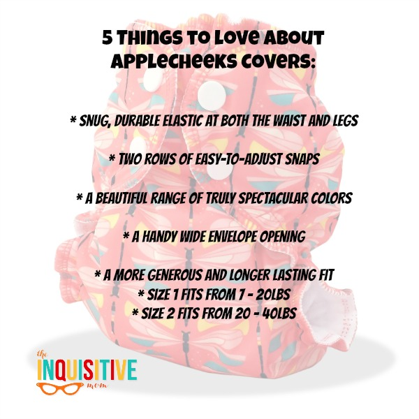 5 Things to Love About AppleCheeks Cloth Diaper Covers
