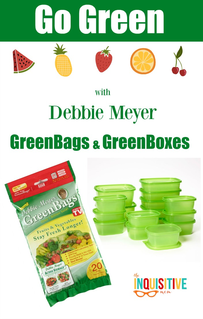 Go Green with Debbie Meyer GreenBags