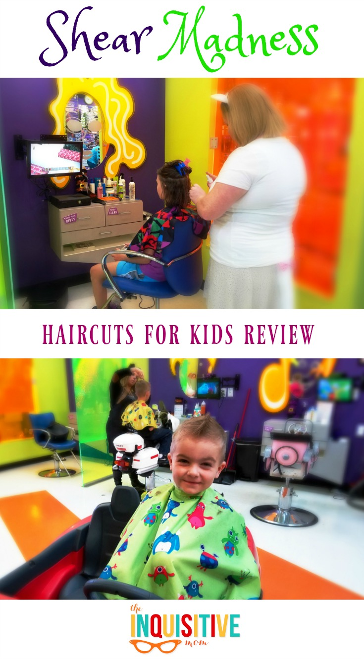 Shear Madness Haircuts For Kids Review The Inquisitive Mom