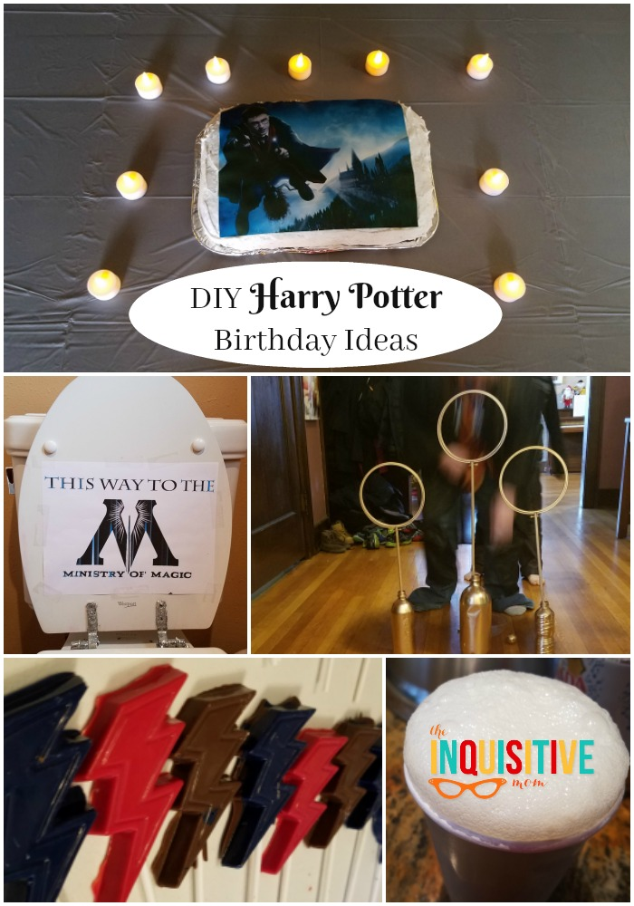 Scour The Internet And You Will Find Enough Ideas For Games Decoration Food To Create 20 Harry Potter Birthday Parties