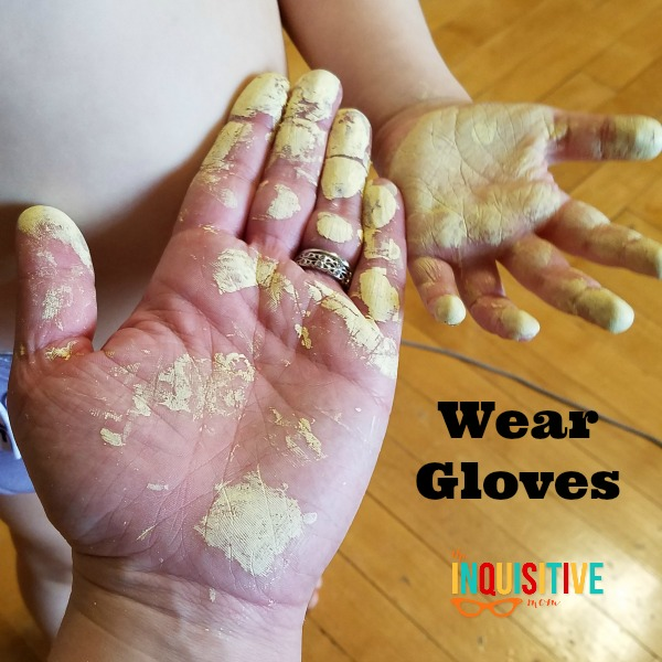 6 DIY Painting Tips Wear Gloves