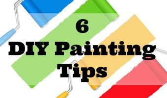 6 DIY Painting Tips for Busy Moms