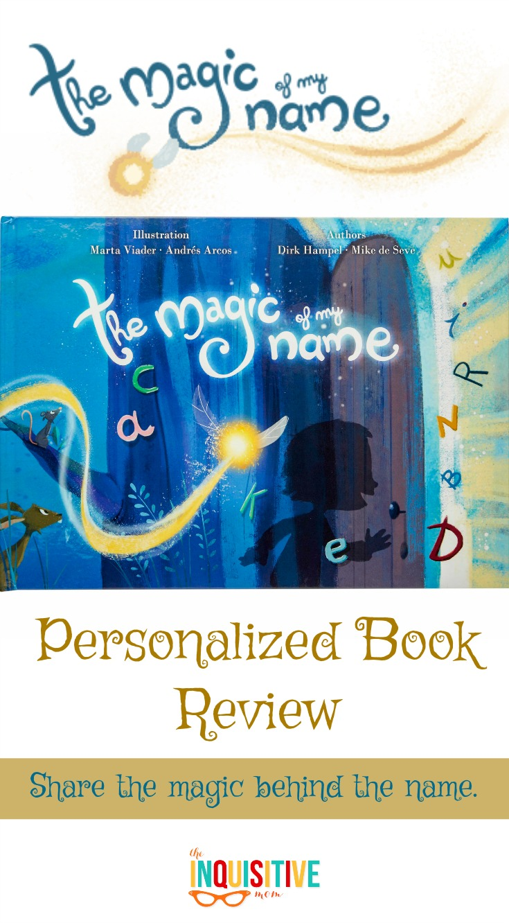 The Magic of My Name Personalized Book Review