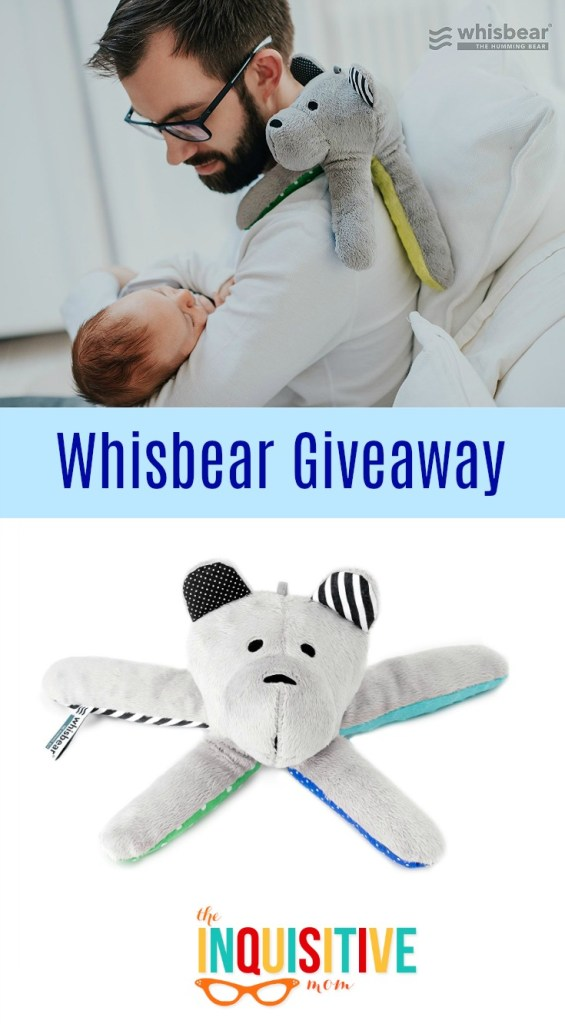 Whisbear Giveaway from The Inquisitive Mom