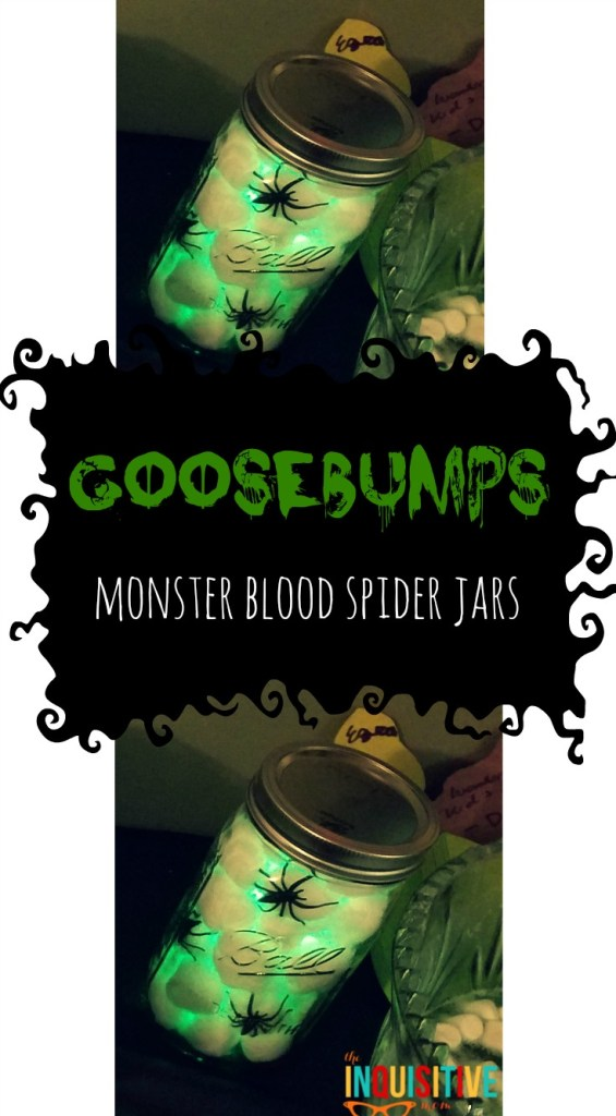Monster Blood Spider Jars Goosebumps Birthday Party