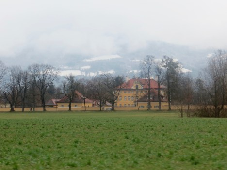Film location of front of Vontrapp Home