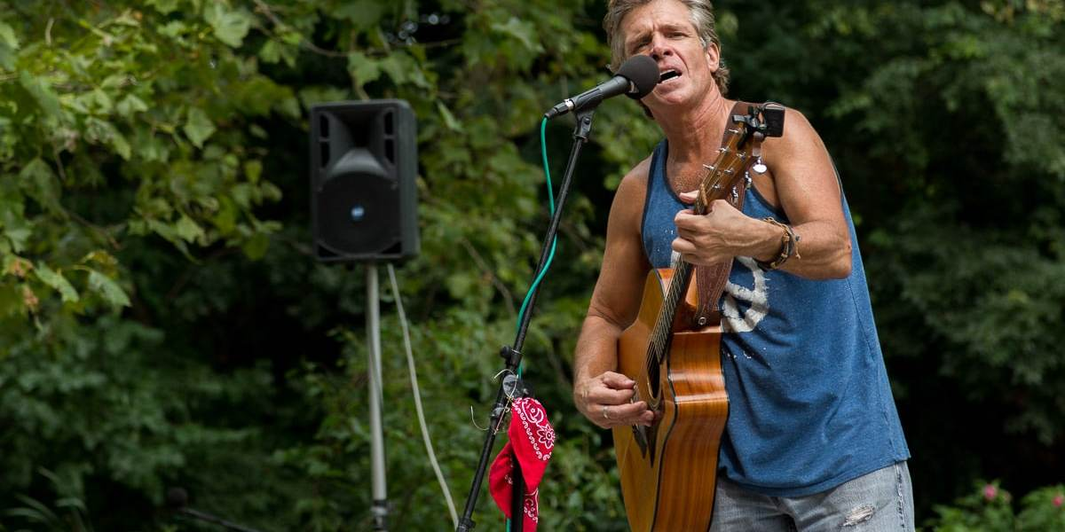 "David Ippolito ""The Guitar Man"" of Central Park"
