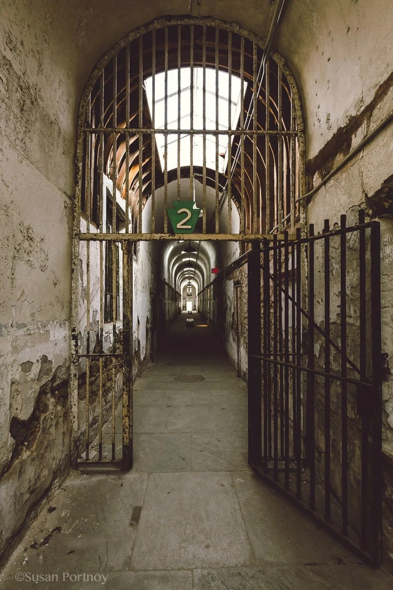 Cell block 2 Eastern State Penitentiary