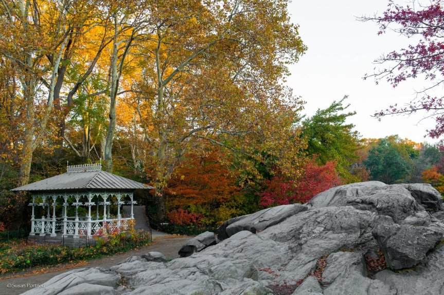 The Ladies Pavilion in Central Park, NYC