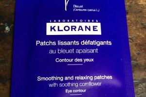 Klorane eye patches