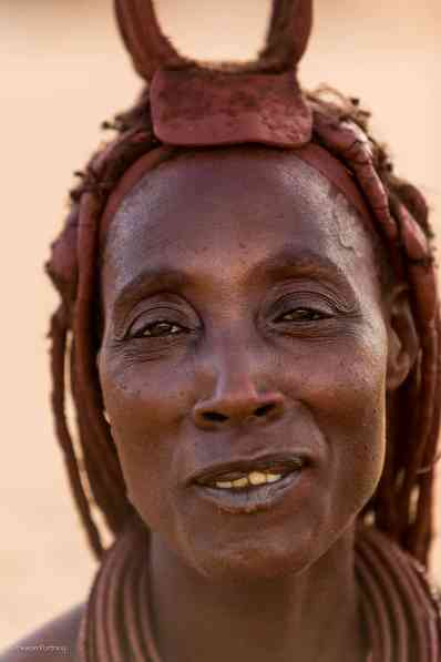 Krocodile - Himba woman in Namibia