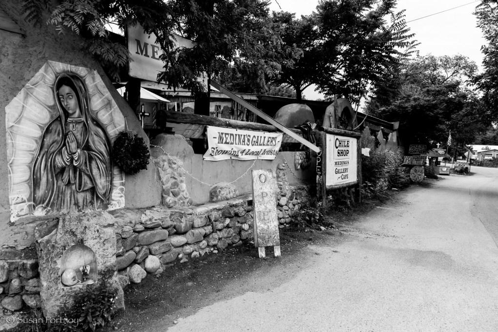 Signs at Chimayo in Santa Fe