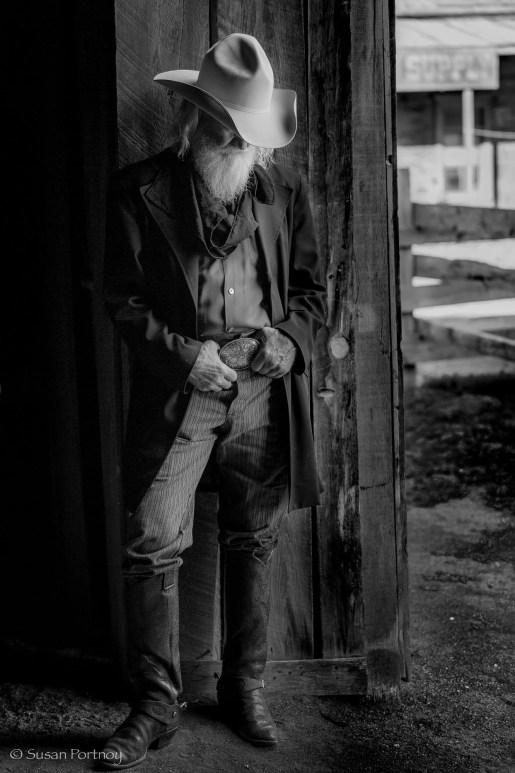 Thomas at Eaves Movie Ranch in Santa Fe