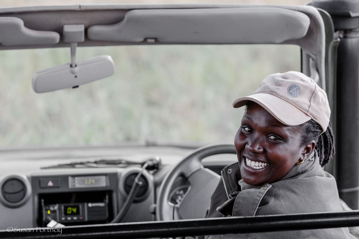 Alice, a guide at Angama Mara. All you need to know to plan the best safari in Kenya
