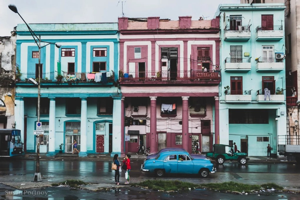 Street scene in Central Havana