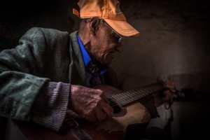 Paolo serenading me in Havana, Cuba