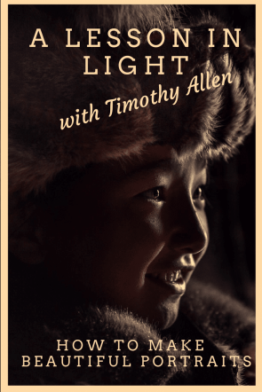 My lesson in making beautiful low-light portraits with renowned photographer Timothy Allen