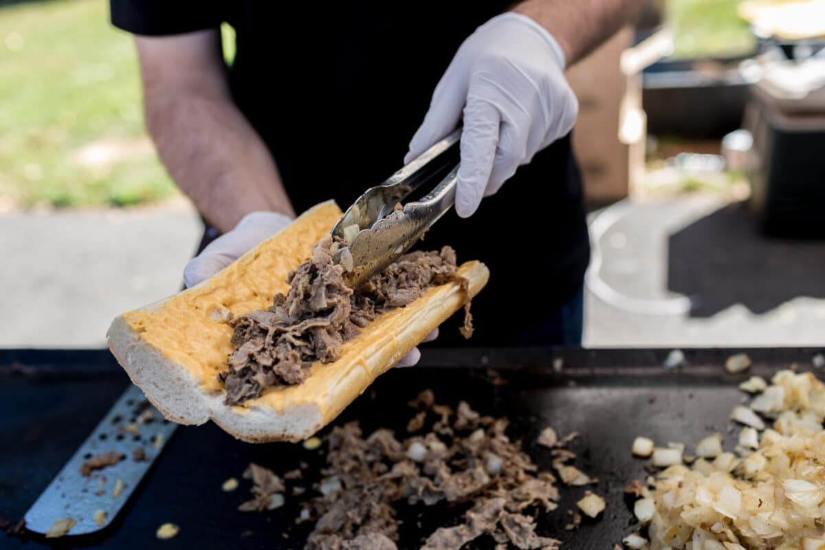 Federoff's South Philly Cheesesteaks at Smorgasburg in New York City