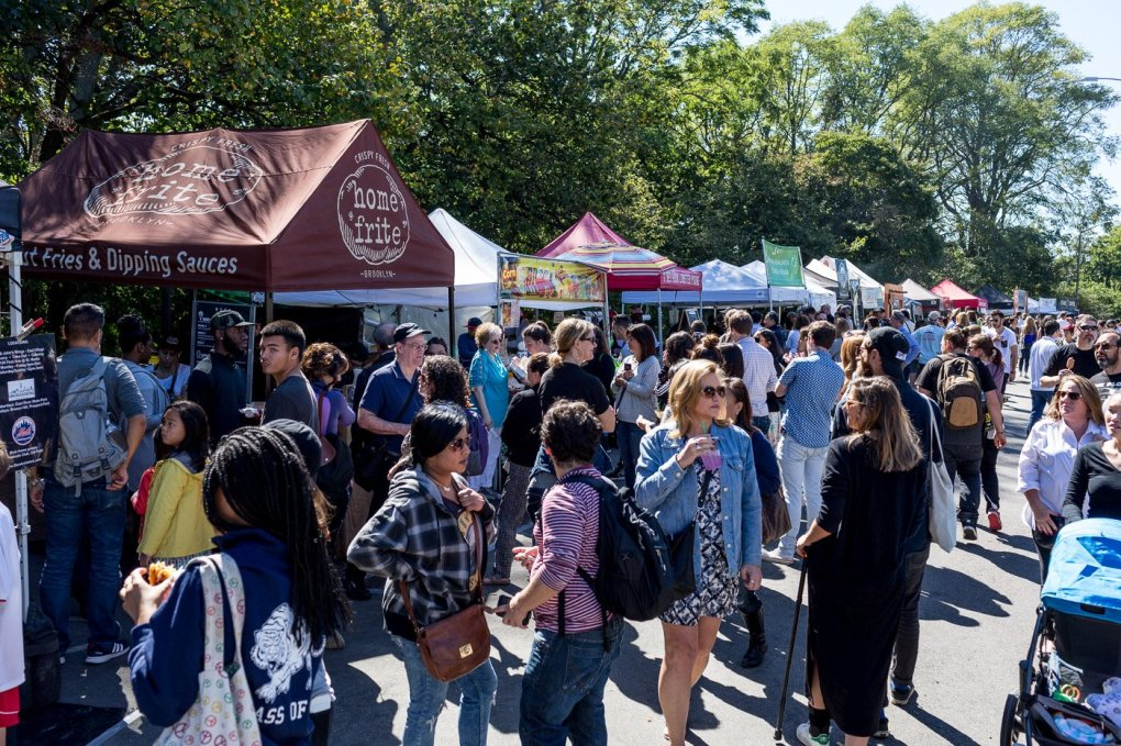 Smorgasburg on Sunday's at Brooklyn's Breeze Hill in Prospect Park-The Insatiable Traveler
