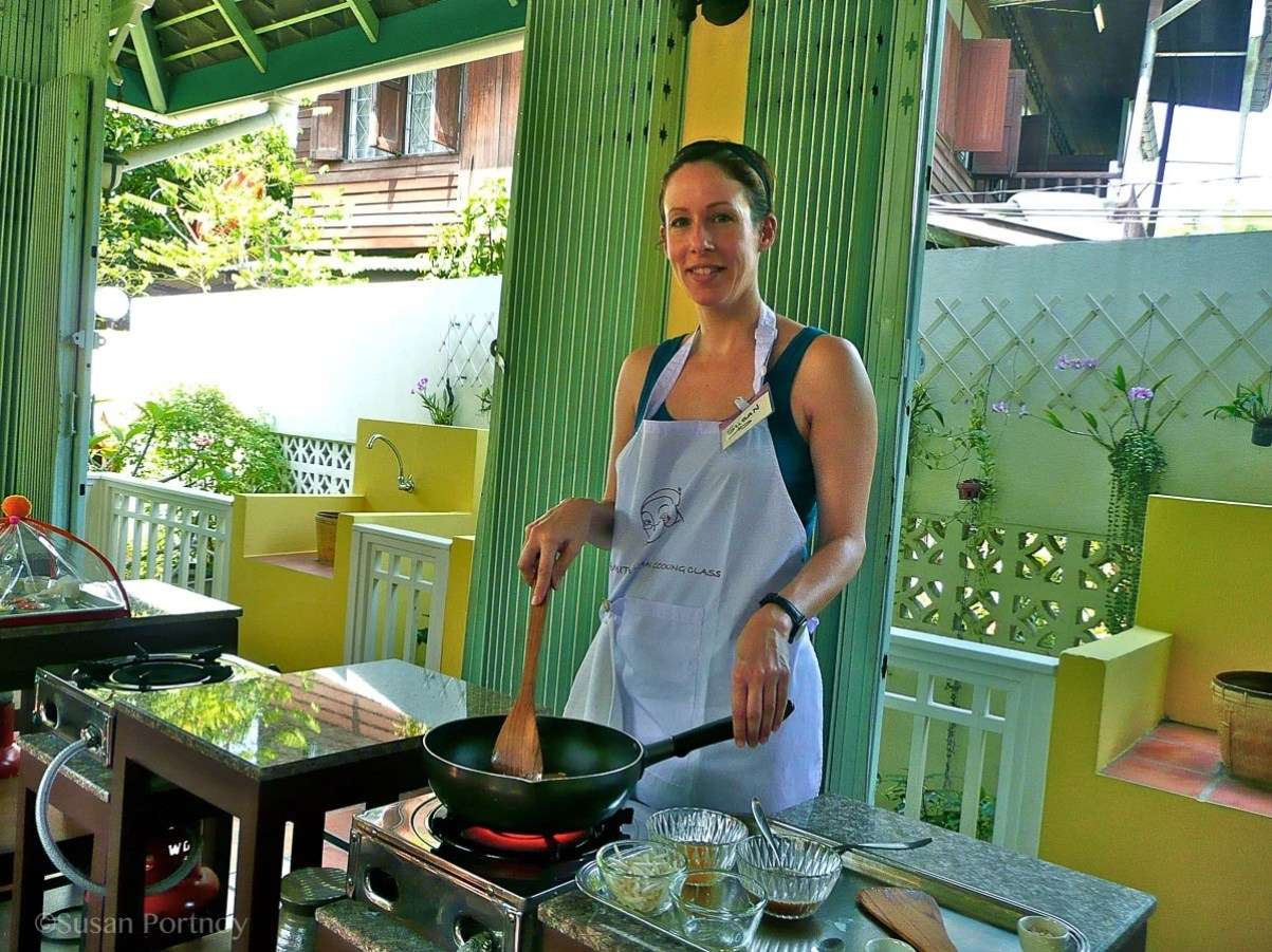 At Amita Cooking School in Bangkok