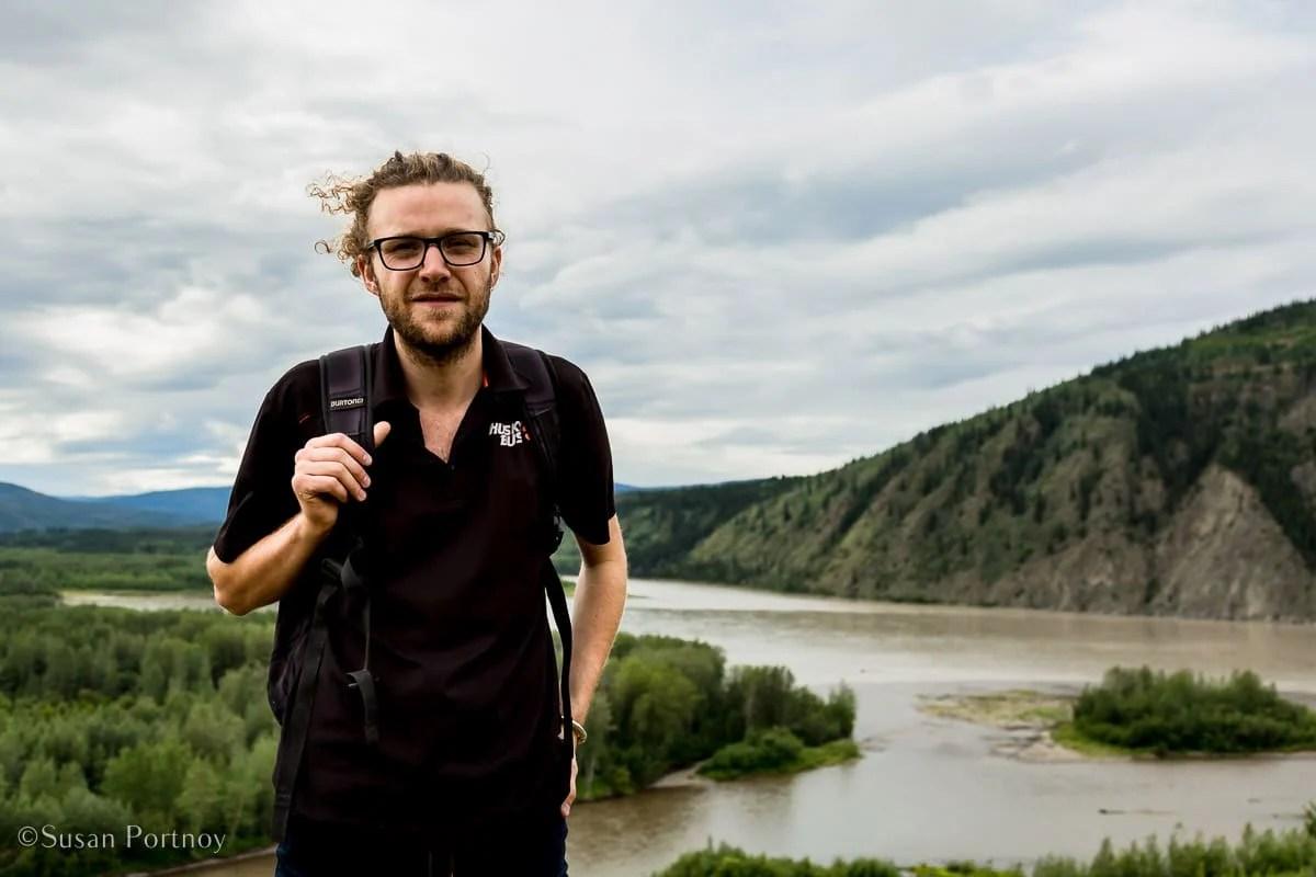 Guide portrait in Dawson City