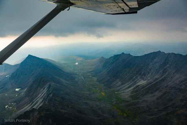 Mountains in Tombstone Territorial Park--Dawson City, the Heart of the Klondike Gold Rush