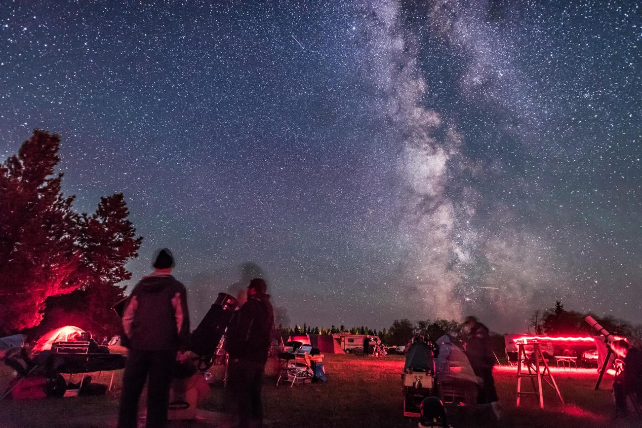 Star Party at Cypress Hills Interprovincial Park / Photo: Alan Dyer --10 of the Most Beautiful Places in Canada for Unforgettable Views
