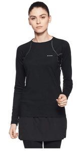 Columbia Womens Heavyweight Stretch Long Sleeve Top