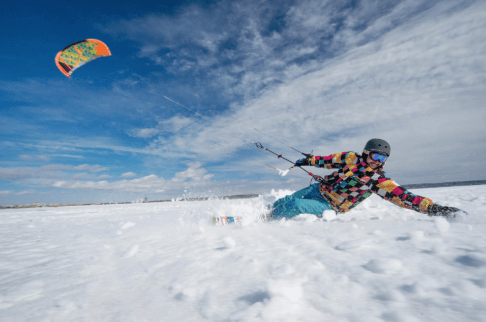 Snowkiting } | 8 Amazing Things to do in Winter Worth Traveling the World For