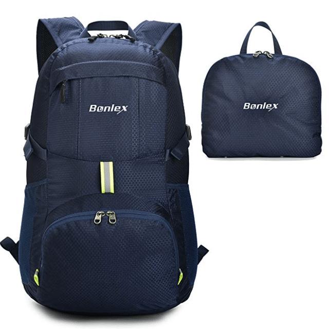Foldable Backpack Packable Travel Backpack - 35L